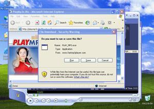 8. WMA/TrojanDownloader.GetCodec trójai