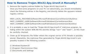 10. Win32/Spy.Ursnif trójai