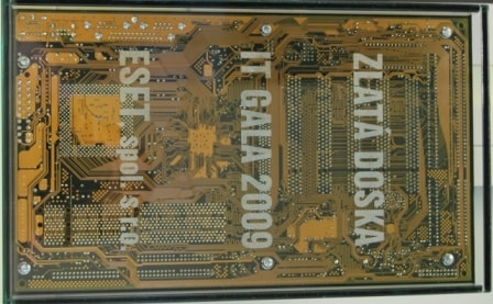 Golden Circuit Board