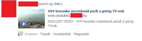 Magyar Facebook átverés
