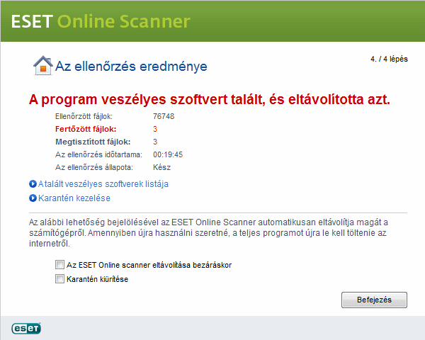 Eset Online Scanner Nod32 Antiv 237 Rus Gyors Megb 237 Zhat 243